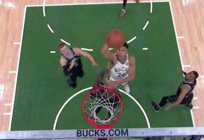 Helpess Thon Maker gets ruined by rampaging Giannis