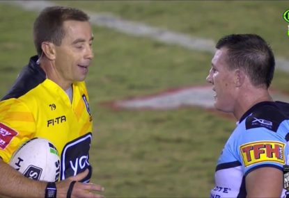 Paul Gallen blasts ref after Sharks' horror first half