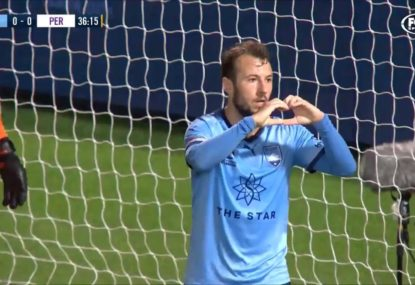 Adam le Fondre scores what might be the easiest goal in the history of football