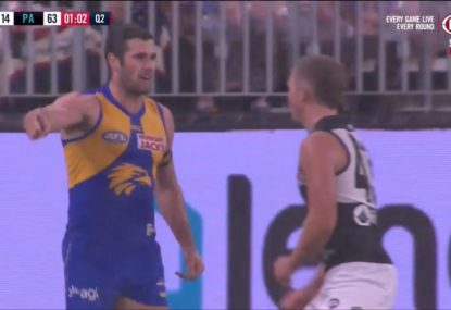 Jack Darling loses the plot in dramatic end to first half