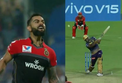 Epic Kohli century nearly overshadowed by Russell's berserk six-hitting frenzy