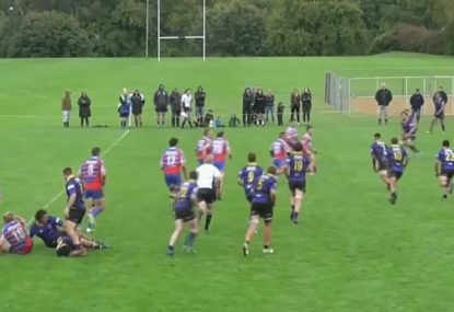 Cheeky crossfield kick sets up scintillating try