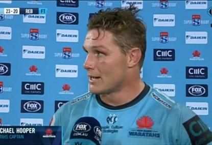 Wallaby captain backs Bernard Foley after dramatic comeback