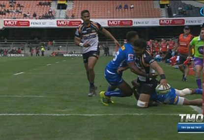 Perfect start! Pete Samu finishes like a winger to stun the Stormers