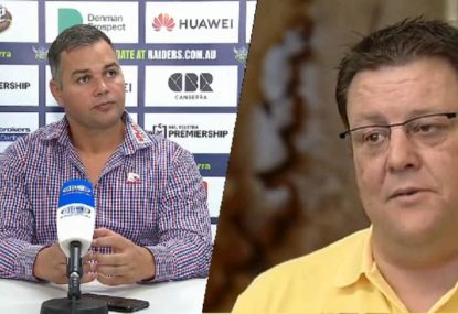 Glenn Lazarus slams 'deluded' Anthony Seibold