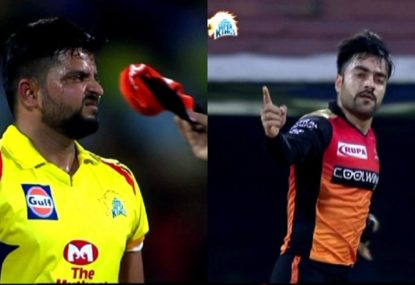 Rashid Khan googly completely bamboozles Indian international