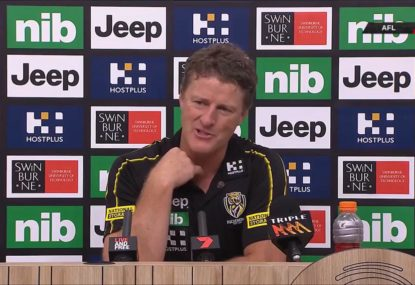 'They'll be building a statue of him': Damien Hardwick's high praise for Tigers third-gamer