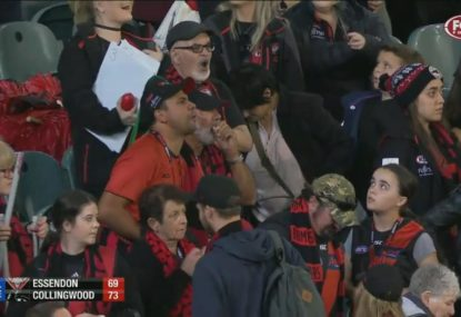 The post-game booing controversy that is dividing opinion in the AFL