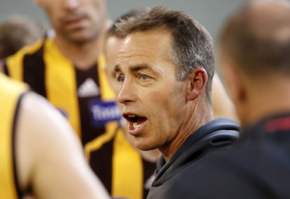 Two difficult decisions lie ahead for mediocre Hawthorn