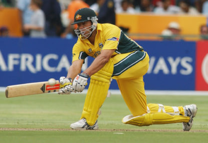 The Roar's Cricket World Cup countdown: Andrew Symonds' match, World Cup and career-saving innings