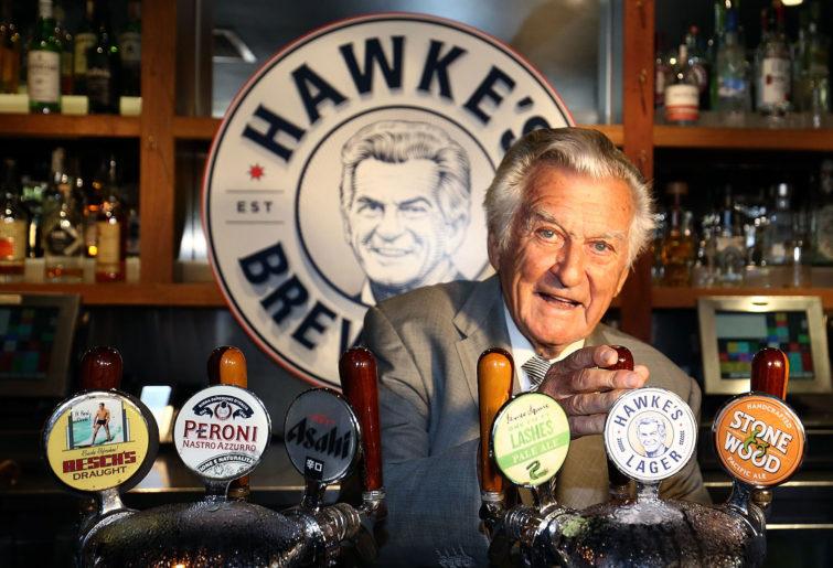 Former Australian prime minister Bob Hawke.