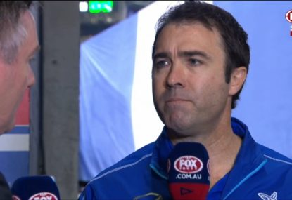 Brad Scott speaks ahead of likely last game in charge of North Melbourne