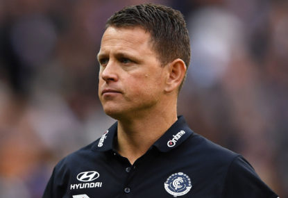 Hiring and firing in the AFL: what to do with Brendon Bolton?