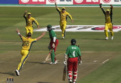 The Roar's Cricket World Cup countdown: Brett Lee's brutal hat-trick