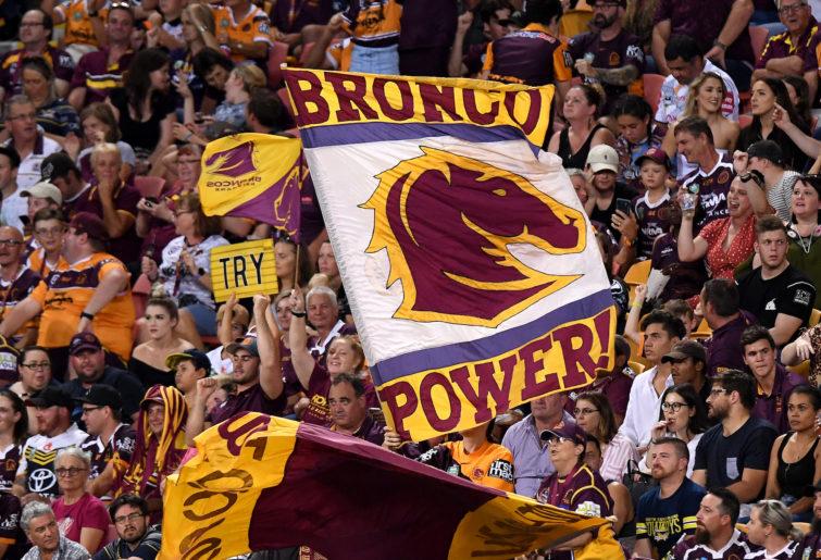 Brisbane Broncos fans.