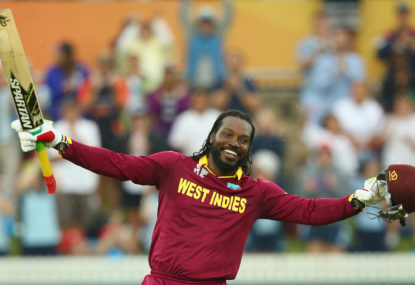 The Roar's Cricket World Cup countdown: Chris Gayle's rubbish-but-brilliant 200
