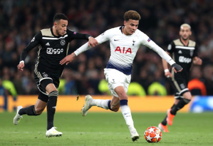 Spurs stun Ajax to seal all-EPL ECL final