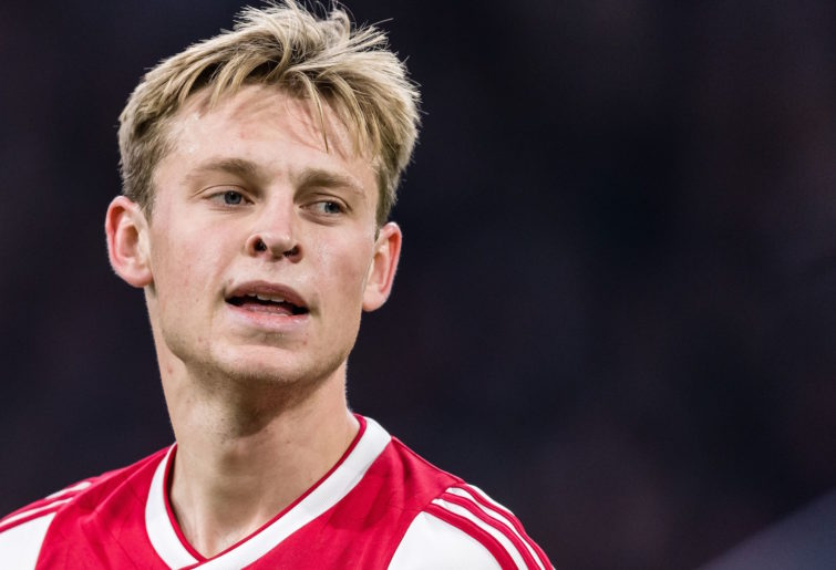 Ajax midfielder Frenkie de Jong.