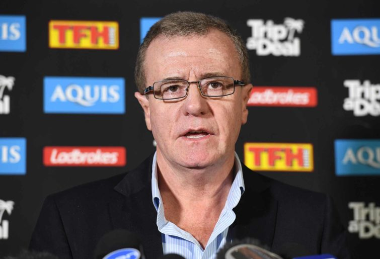 Gold Coast Titans CEO Graham Annesley