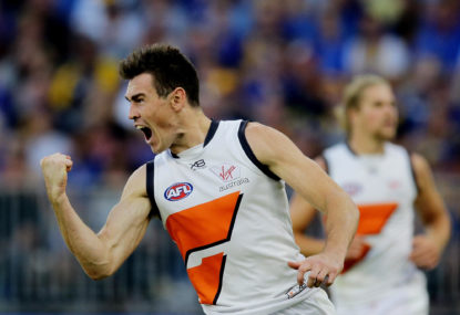 Jeremy Cameron's historic situation is beneficial for both GWS and the AFL