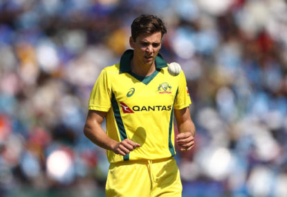 Jhye Richardson ruled out of Cricket World Cup
