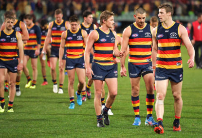 Adelaide down tough Richmond despite Jenkins injury
