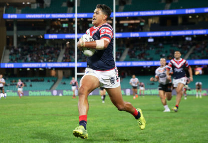 Roosters back in winners' circle after thrashing Dogs