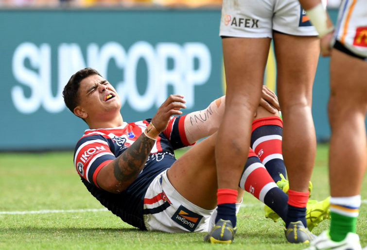 Sydney Roosters star Latrell Mitchell.