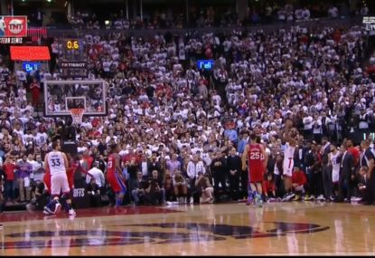 Kawhi Leonard knocks the 76ers out of the playoffs with the most brutal buzzer-beater