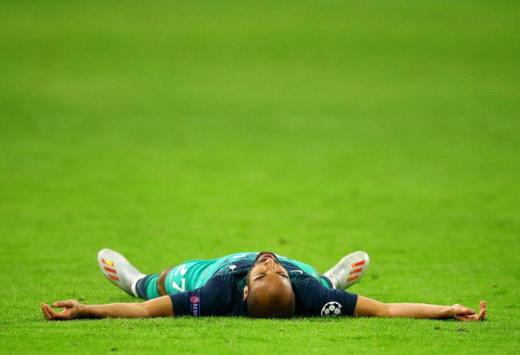 Tottenham Hotspur's Lucas Moura.