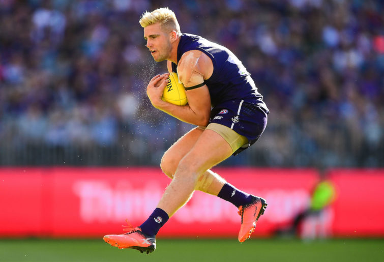 Fremantle backman Luke Ryan
