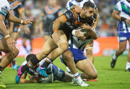 Parramatta confirm signing of Ryan Matterson from Wests Tigers