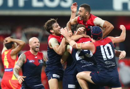 Melbourne Demons vs Gold Coast Suns: AFL live scores