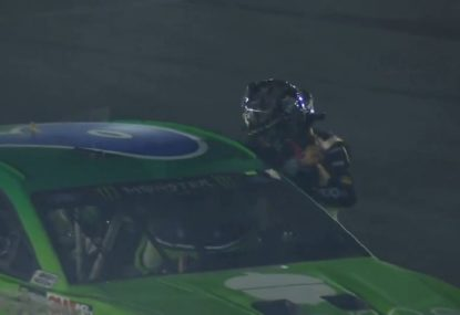 NASCAR driver attacks rival after incident on cool down lap