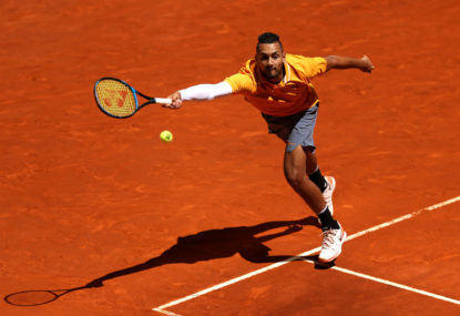 Kyrgios' camp must throw in the towel