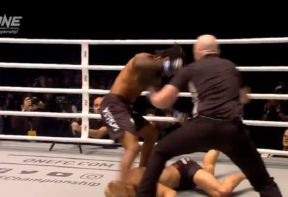 Former UFC fighter cops brutal face-plant KO on ONE debut