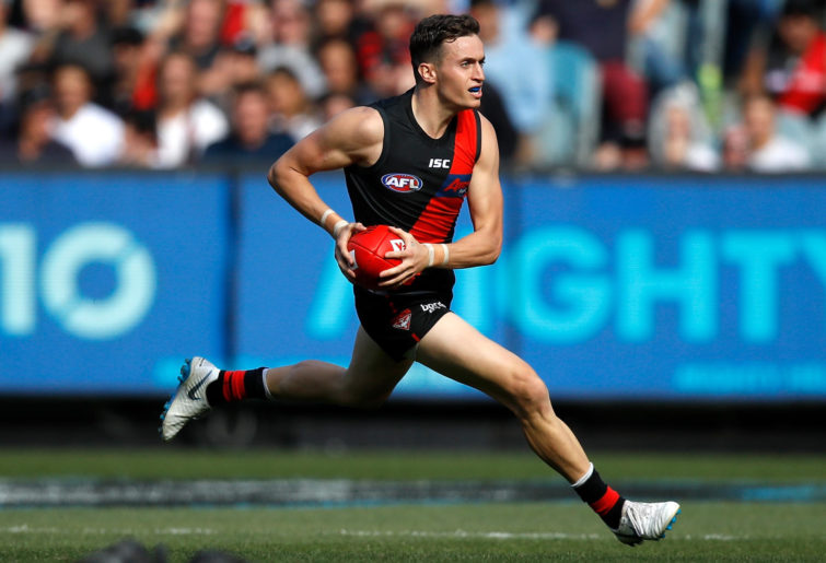 Orazio Fantasia runs with the ball.
