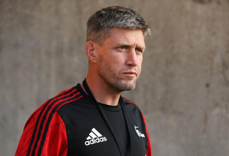 Crusaders assistant coach Ronan O'Gara.
