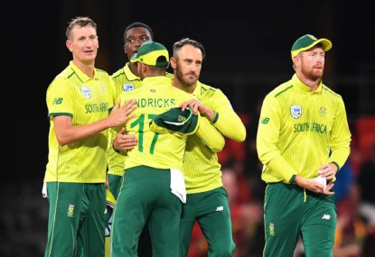 Faf, spectators, broadcasters, and the other dangermen await in South Africa