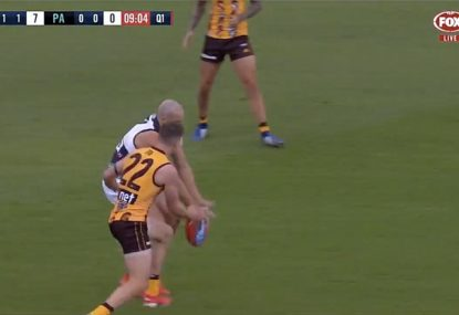 Jack Gunston capitalises on bizarre Sam Powell-Pepper stuff up