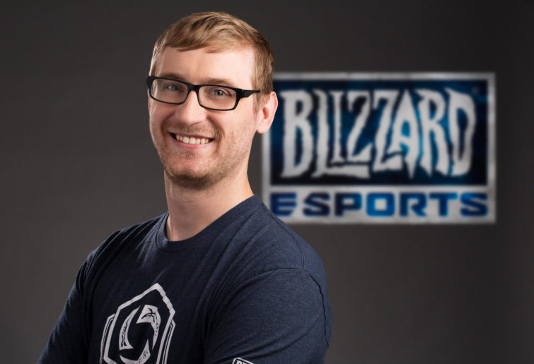 Global esports franchise lead for Hearthstone, Sam Braithwaite