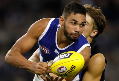 Western Bulldogs vs North Melbourne Kangaroos: AFL live scores, blog