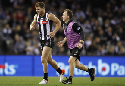 Collingwood's injury crisis has reached breaking point