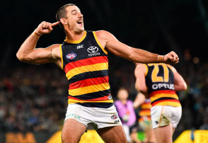 Tex ignites the Crows against the Gold Coast Suns