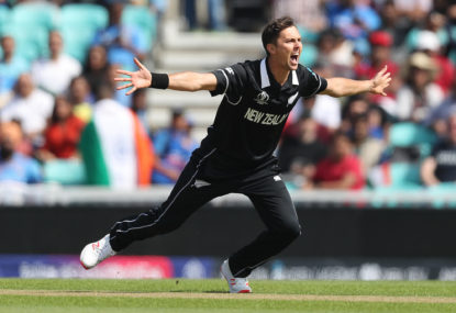 How torching Australia launched Trent Boult's career