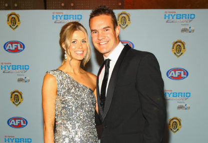 AFL world rallies around Brad Green after the sudden death of his wife
