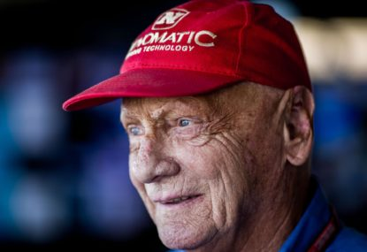 F1 mourns loss of legend Lauda