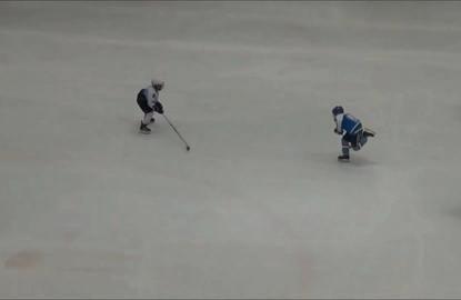 Real life Mighty Duck kid dominates ice hockey