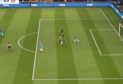 Scorpion kick goal makes an absolute mockery of keeper