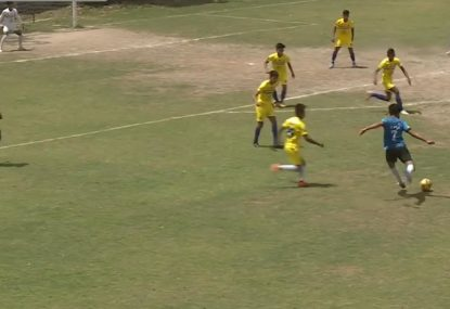 Huge nutmeg flummoxes keeper to seal brilliant end-to-end goal